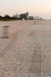Lever de soleil sur la plage de South Beach à Miami en Floride