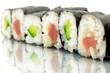 Nahaufnahme Sushi