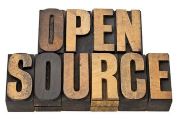 open source - software concept