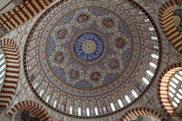 The Dome of Selimiye Mosque, Edirne.