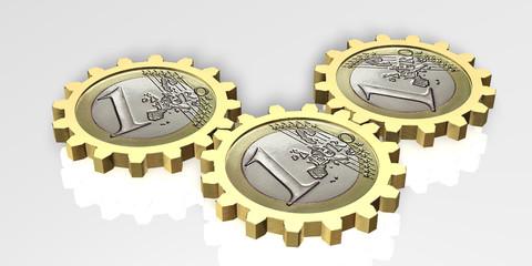 Euro Gold Zahnrad