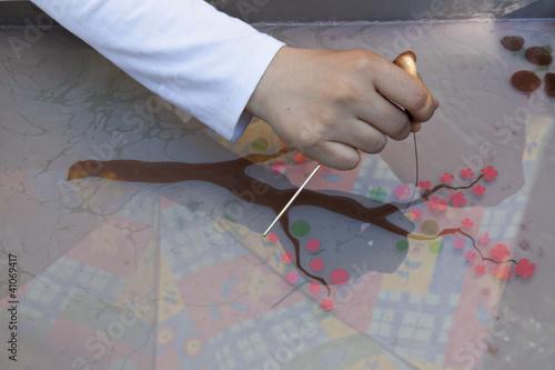 Paper marbling preparation