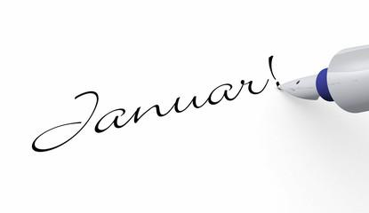 Stift Konzept - Januar!
