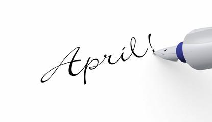 Stift Konzept - April!
