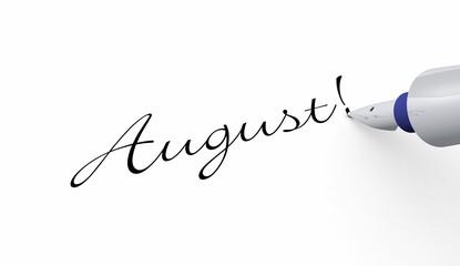 Stift Konzept - August!