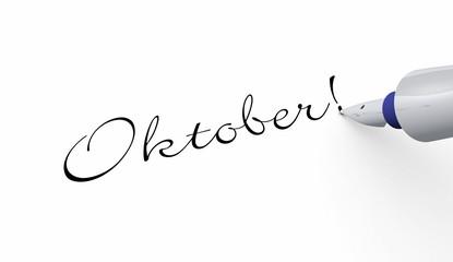 Stift Konzept - Oktober!