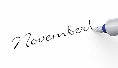 Stift Konzept - November!