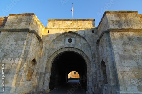 Main entrance to the fortress