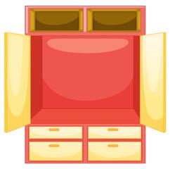 mpty wardrobe