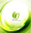 Green Eco Energy Background