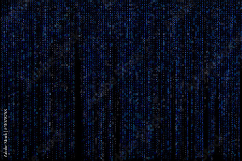 Digital matrix abstract background