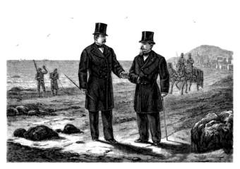 2 Gentlemen - 19th century