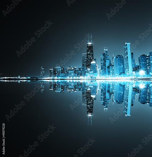 Fototapeta niebieski - budowy - Budynek