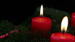 Advent christmas candles - Adventskranz