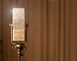 Fototapety Retro vintage Mikrofon