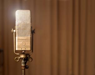 Retro vintage Mikrofon