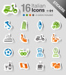 Stickers -  Italian Icons