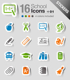 Fototapety Stickers -  School Icons