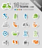 Stickers -  Italian Icons