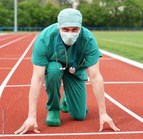 Arzt in Konkurrenzsituation