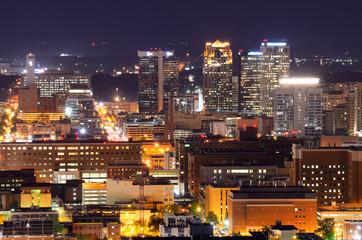Downtown Birmingham, Alabama, USA