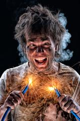 Crazy electrician