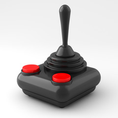 joystick isolated on white background