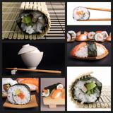 Fototapety sushi