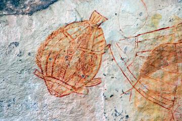 Aboriginal rock art, Ubirr, Kakadu N/P, Australia