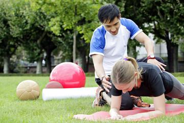 fitnesskurs outdoor