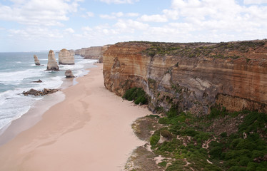 Apostles close to the tide-line