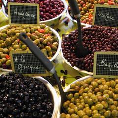 Olives variées cuisinées