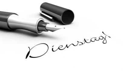 Dienstag - Stift Konzept
