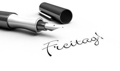 Freitag - Stift Konzept