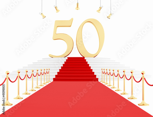 50  year anniversary on the red carpet