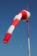 New red & white windstock © Arena Photo UK