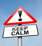 Keep calm. poster