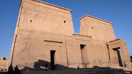 Templo de Isis, templos de Philae, Egipto