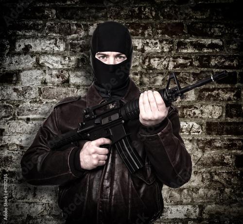 terrorist portrait
