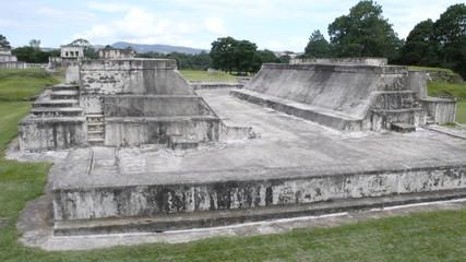 Ruinas mayas de Zaculeu en Huehuetenango. Guatemala.