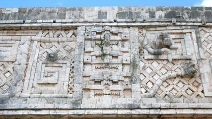 Cuadrángulo de las Monjas, Uxmal, Yucatán, México.