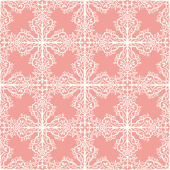 Seamless damask pattern indian inspiration