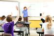 Stock Photo of Teaching Algebra Class