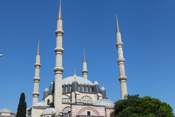 Selimiye Mosque in Edirne, Turkey.