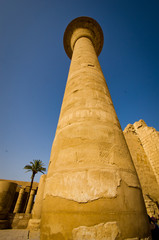 Karnak Temple column