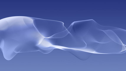 wonderful video animation with moving particle object