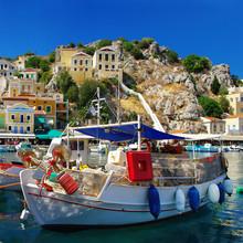 Farben von Griechenland Serie - Insel Symi