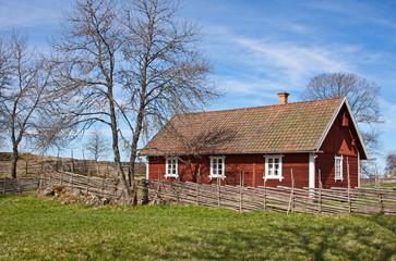 Idyllic Swedish house.