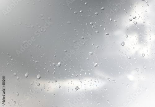 regentropgen scheibe fenster