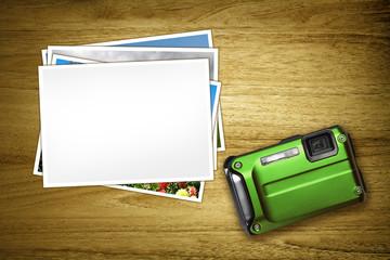 green camera blank photo